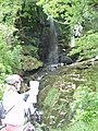 Waterfall, Argyll Forest by Loich Goil - geograph.org.uk - 25236.jpg