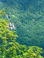 Waterfall on craggy mountain.jpg