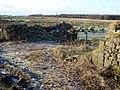 Waterhouse Farm ruins, Kennox Moss, East Ayrshire - view south-west.jpg