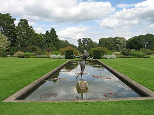 Waterperry Gardens - View in Waterperry Gardens