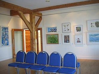 Scottish Ornithologists' Club - Image: Waterston House Gallery