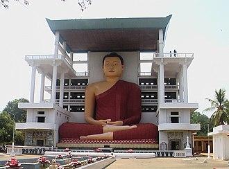 Matara, Sri Lanka - Weherahena temple