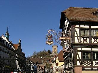 Weingarten (Baden) - Image: Weingarten Baden Marktplatz