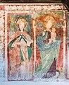 Weitensfeld Magdalenenstrasse Filialkirche hl Maria Magdalena W-Wand Fresken 27032017 7052.jpg