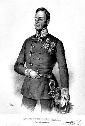 Ludwig von Welden - Ludwig von Welden. Lithograph by Josef Kriehuber