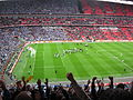 Wembley Manchester derby after final whistle.JPG