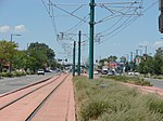 West along tracks from Power station, Aug 15.jpg