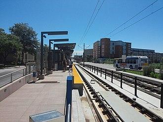 Westgate station (Metro Transit) - Westgate, looking in the direction of downtown Saint Paul