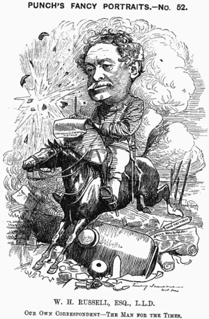 Edward Linley Sambourne - Image: Wh russell cartoon