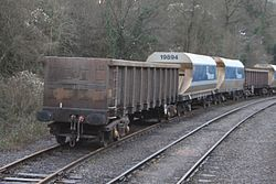 Whatley Quarry wagons for repair.JPG