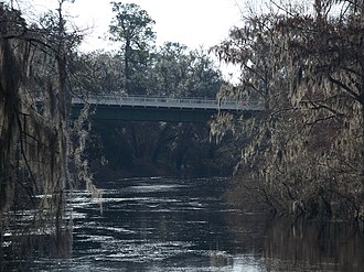 Suwannee River - Image: White Springs FL SR 136 bridge 02