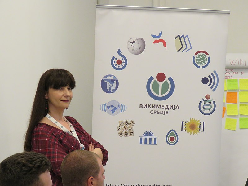 File:WikiLive 2018 in Serbia, Ivana Guslarević.jpg