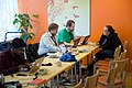 Wikimedia Hackathon Vienna 2017-05-20 Hacking Heuriger 01.jpg