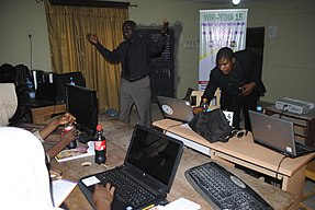 Wikipedia 33 at Fountain University Osun state Nigeria.jpg