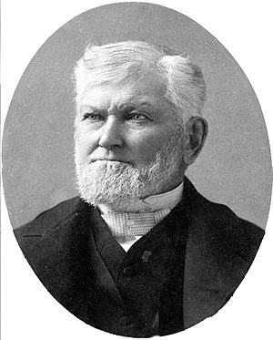President of the Quorum of the Twelve Apostles (LDS Church) - Image: Wilford Woodruff 1889