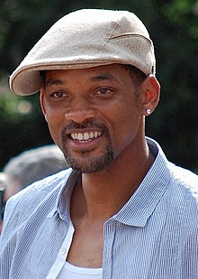 A photograph of Will Smith attending the premiere of The Karate Kid in 2010