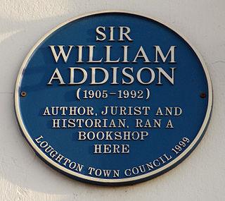 English historian, author and jurist