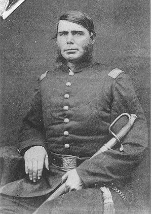 William J. Colvill - Captain William Colvill in 1861 or 62