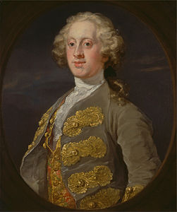 William Hogarth - William Cavendish, Marquess of Hartington, Later 4th Duke of Devonshire - Google Art Project.jpg
