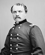 Old picture of an American Civil War general