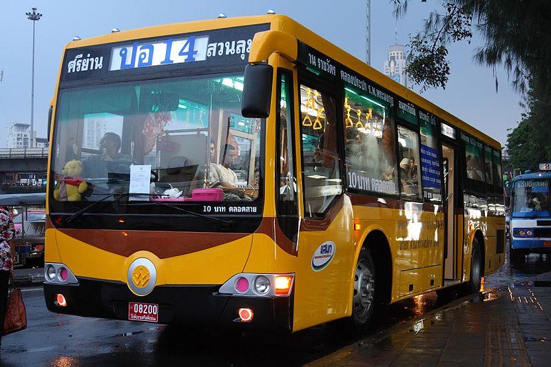 Como pegar ônibus em Bangkok