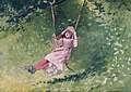 Winslow Homer - Girl on a Swing (1879).jpg