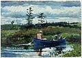 Winslow Homer - The Blue Boat - Google Art Project.jpg
