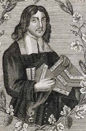 William Winstanley - William Winstanley, portrait from 1667