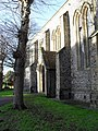 Winter in the churchyard at St Paul's, Chichester - geograph.org.uk - 1637813.jpg