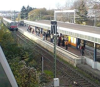 Witten-Annen Nord station railway station in Annen, Germany