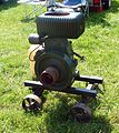 Wolseley stationary engine, Cophill Farm vintage rally 2012.jpg