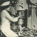 Woman canning food, Wanita di Indonesia p93 (Ministry of Information).jpg