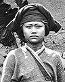 Woman face detail, from- Gochi, a Baksa girl 1871 Wellcome L0056713 (cropped).jpg