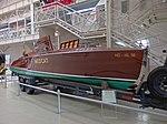 Wooden boat with Rolls Royce Merlin engine (23746720498).jpg