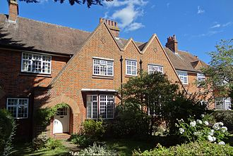 Benhilton - Houses at Woodend in the Sutton Garden Suburb