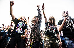 Woodstock 2013 metal music fans