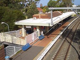 Woolooware - Image: Woolooware Railway Station 2