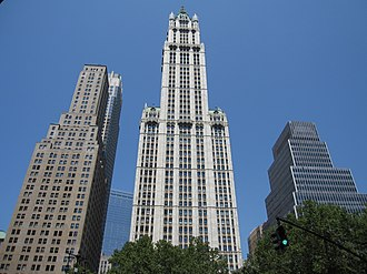 Woolworth Building - Seen from the east