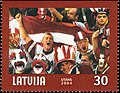 World Ice Hockey Championships 2004 stamp of Latvia.jpg
