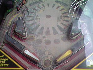 High Speed (pinball) - Image: Worn High Speed Pinball