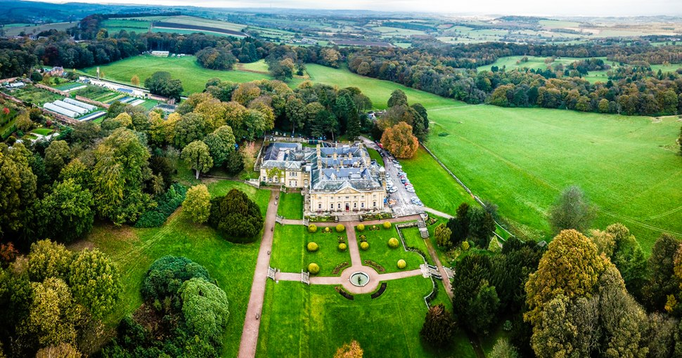 Wortley Hall former stately home and gardens