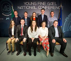 Young Fine Gael - Current YFG National Executuive elected November 2016