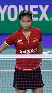 Greysia Polii Badminton player