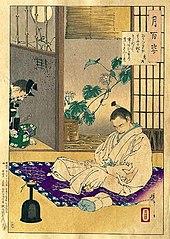Hidetsugu in exile