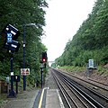 You've missed your train^ Falconwood Station - geograph.org.uk - 986581.jpg
