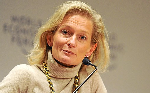 Zanny Minton Beddoes was appointed editor in 2015, first joining as an emerging markets correspondent in 1994. Zanny Minton Beddoes World Economic Forum 2013 cropped.jpg