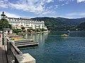 Zell am See Grand Hotel i jezioro Zeller See.jpg