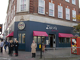 Zizzi - Image: Zizzi, Sutton, Surrey