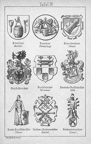 zunftwappen heraldik wiki. Black Bedroom Furniture Sets. Home Design Ideas