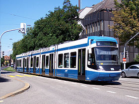 Image illustrative de l'article Tramway de Zurich